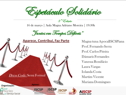 noticia_espetaculo_solidario_nss_iscsp