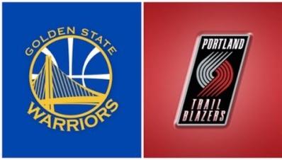 Warriors vs Trail Blazers