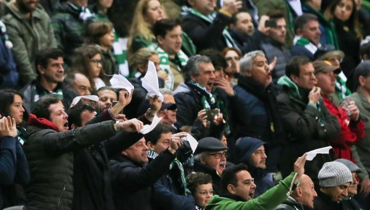 Soccer: Sporting vs Pacos de Ferreira