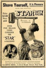 Anúncio do Star Safety Razor